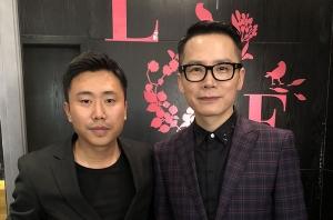 悦风美妆造型团队为央视主持人李晓东化妆造型