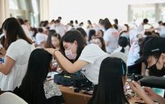 悦风美妆学院社会实践
